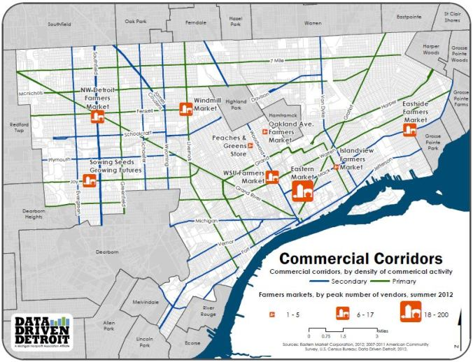 Commercial corridors Data Driven Detroit